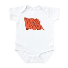 Morocco Flag Infant Bodysuit