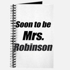 soon to be mrs. Robinson Journal