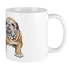 Bulldog Bite for Dog lovers Mug