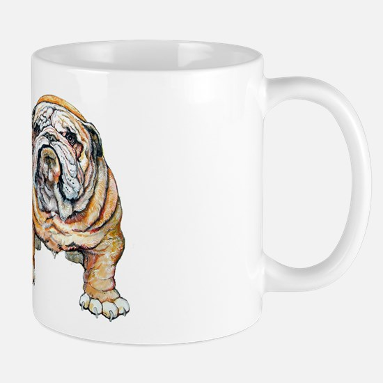 Bulldog Bite for Dog lovers Mug