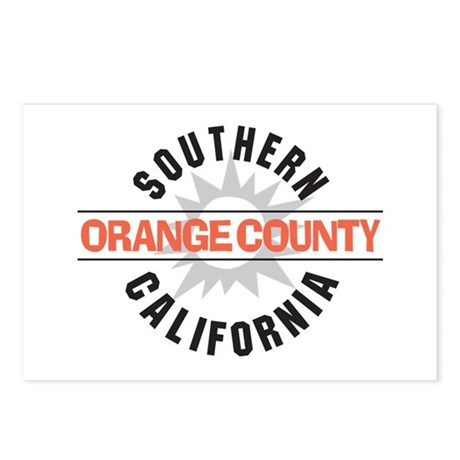 Orange County California Postcards (Package of 8)