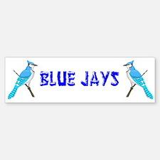 Bluejays Bumper Bumper Bumper Sticker