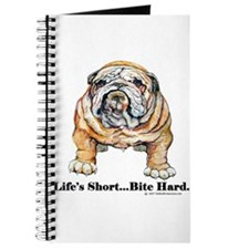 Bulldog Bite for Dog lovers Journal