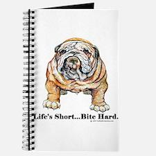 Bulldog Bite for Dog lovers Journal