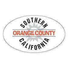 Orange County California Decal