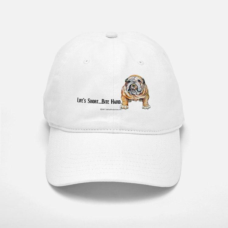 Bulldog Bite for Dog lovers Baseball Baseball Cap