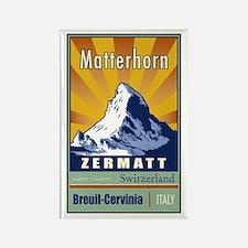 Matterhorn Rectangle Magnet (10 pack)