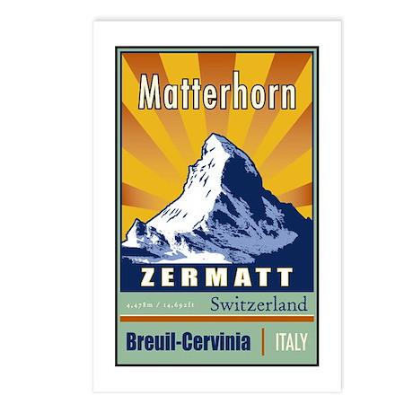 Matterhorn Postcards (Package of 8)