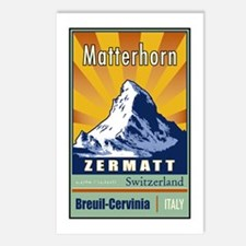 Matterhorn Postcards (Package of 8)
