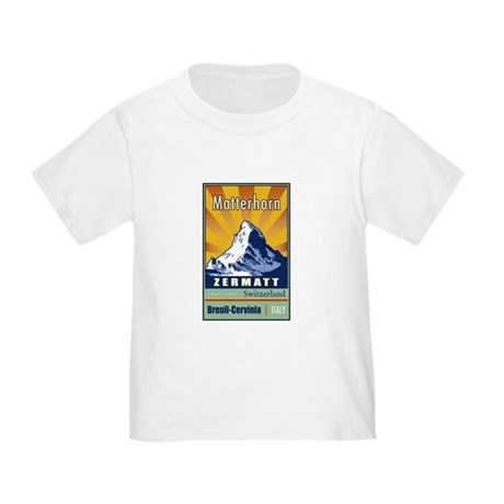 Matterhorn Toddler T-Shirt