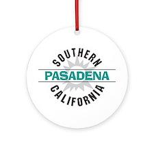 Pasadena California Ornament (Round)