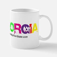 Colorful Georgia Mug