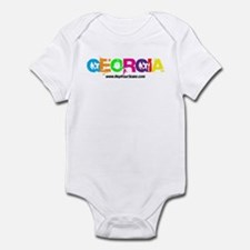 Colorful Georgia Infant Bodysuit