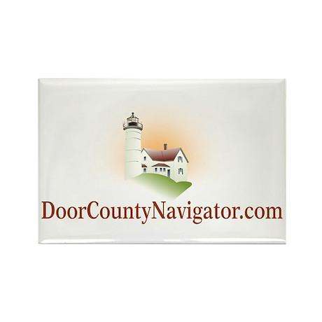 Rectangle Magnet w/ Official DCN Logo
