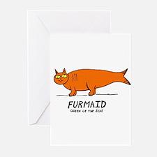 Orange Greeting Cards (Pk of 10)