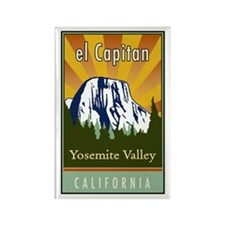 el Capitan Rectangle Magnet (10 pack)