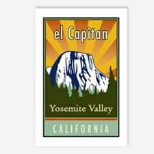 el Capitan Postcards (Package of 8)