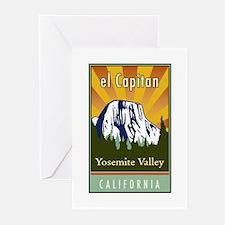 el Capitan Greeting Cards (Pk of 20)