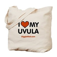 Uvula Love Tote Bag