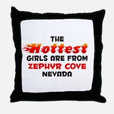 Hot Girls: Zephyr Cove, NV Throw Pillow