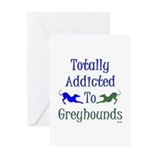 TOTALLY ADDICTED Greeting Card