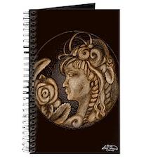Darla cameo antique sepia Journal