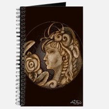 Darla cameo antique sepia Journal
