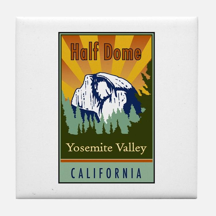 Half Dome Tile Coaster