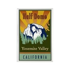 Half Dome Rectangle Magnet (10 pack)