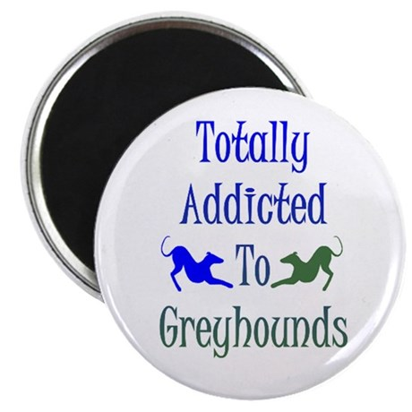 TOTALLY ADDICTED ROUND Magnet