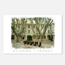 Avignon Courtyard Postcards (Package of 8)