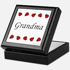 Grandma (ladybug) Keepsake Box