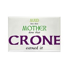 Maid Mother Crone Rectangle Magnet