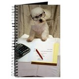 Bichon frise Journals & Spiral Notebooks