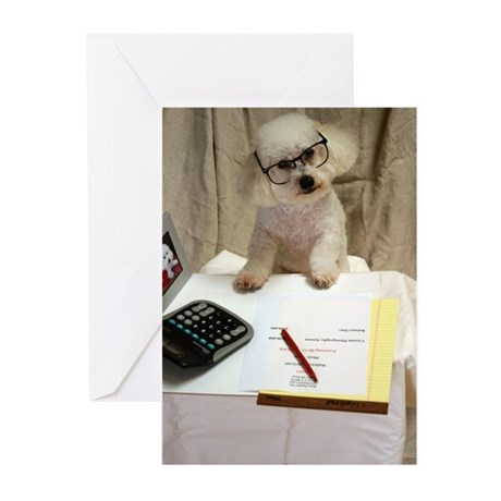 I Love My Bichon Frise Greeting Cards (Pk of 10)