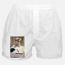 I Love My Bichon Frise Boxer Shorts