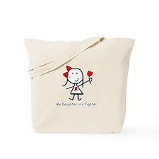 Red Ribbon - Daughter Tote Bag