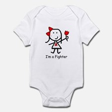 Red Ribbon - Fighter Infant Bodysuit
