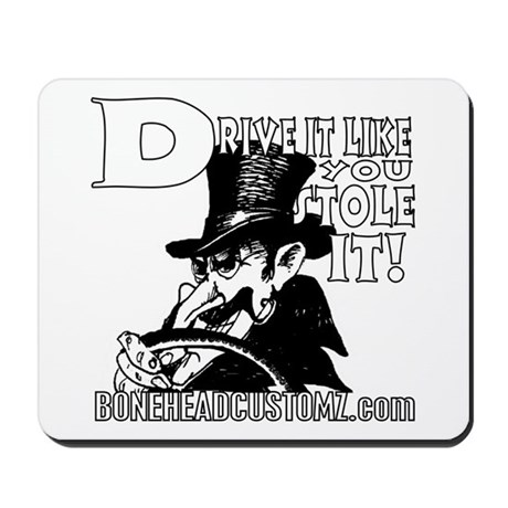DRIVE IT! Mousepad