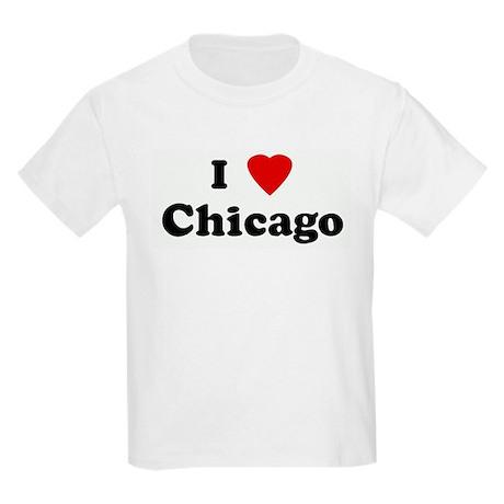 I Love Chicago Kids Light T-Shirt