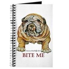 Bulldog Bite Me! Journal