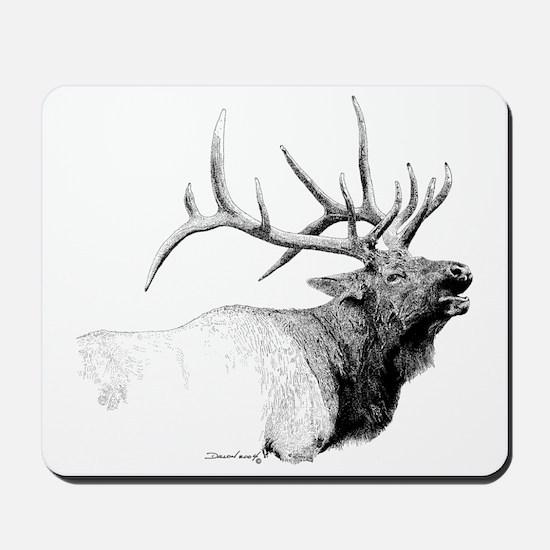 Bull Elk Mousepad