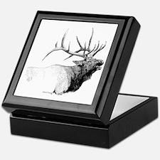 Bull Elk Keepsake Box
