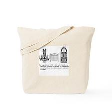 Unique Chandeliers Tote Bag