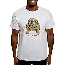 Bulldog Bite Me! T-Shirt