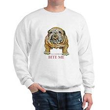 Bulldog Bite Me! Sweatshirt