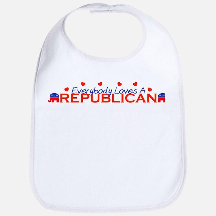 Everybody Loves A Republican Bib