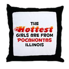 Hot Girls: Pocahontas, IL Throw Pillow
