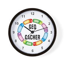 GPS Oval Wall Clock