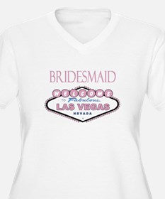 Rose Las Vegas Bridesmaid T-Shirt